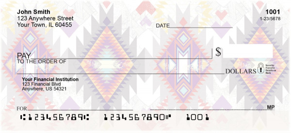 Aztec Personal Checks