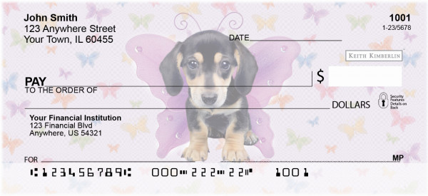More Dogs Wing Series Keith Kimberlin Personal Checks | KKM-08