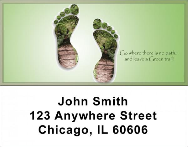 Leave A Green Trail Address Labels