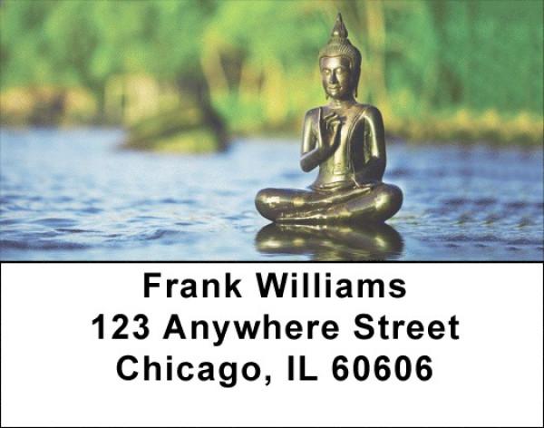 Zen Buddha Labels