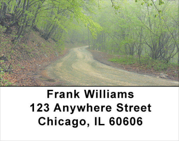 Roads Less Traveled Address Labels