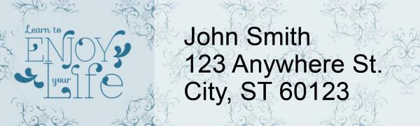 Vintage Sayings Address Labels