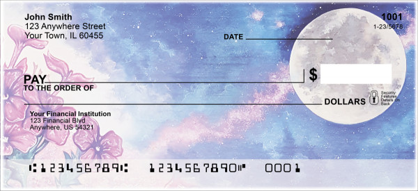 Celestial Moons Personal Checks | MCL-01