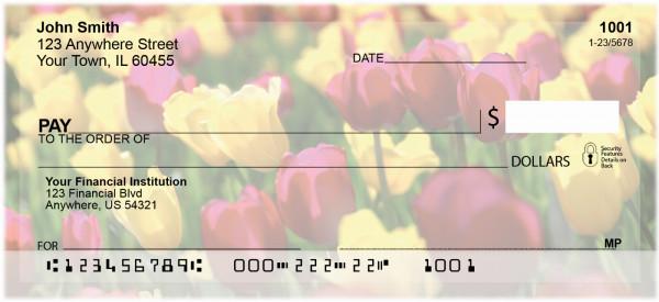 Tulips Personal Checks