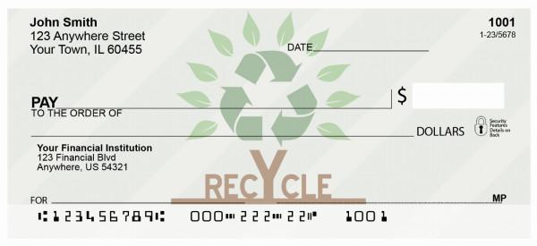 Recycle Tree Personal Checks