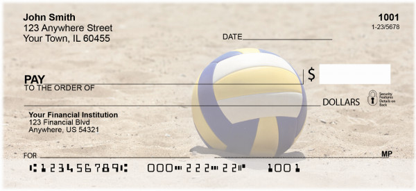 Beach Volleyball Personal Checks | SPO-89