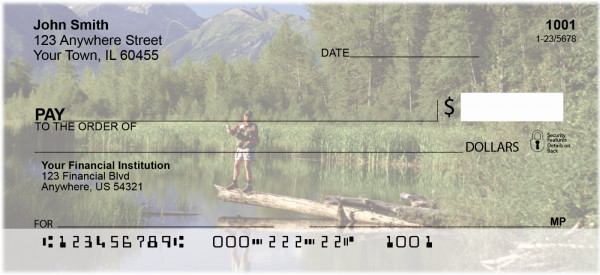 Scenic Fly Fishing Personal Checks | SPO-D7