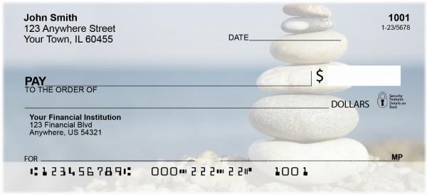 Zen Stones in Nature Checks