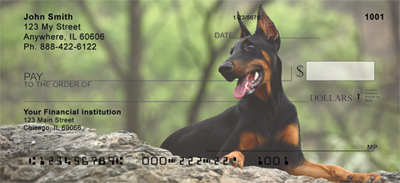 Dobermans Personal Checks