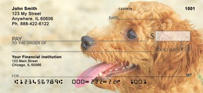 Toy Poodles Personal Checks