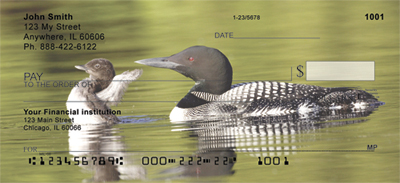 A Loon-ee Family Personal Checks
