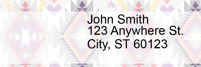 Aztec Address Labels