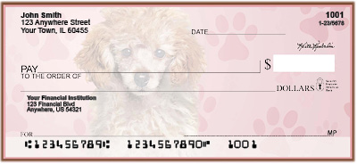 Poodle Pups Keith Kimberlin Personal Checks