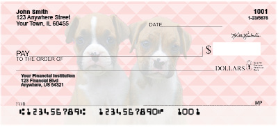Boxer Pups Keith Kimberlin Personal Checks
