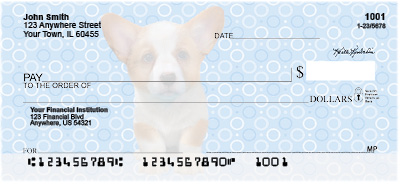 Corgi Pups Keith Kimberlin Personal Checks