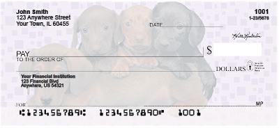 Dachshunds Pups Keith Kimberlin Personal Checks