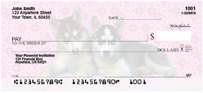 Husky Pups Keith Kimberlin Personal Checks