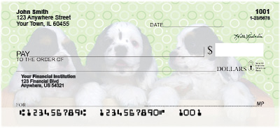 Cocker Spaniel Pups Personal Checks