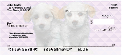 Havanese Pups Personal Checks