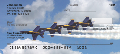 Navy Stunt Planes Personal Checks