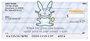 It's Happy Bunny Funny Personal Checks