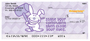 It's Happy Bunny More Insults Personal Checks