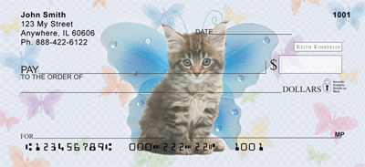 Fairy Kitties Keith Kimberlin Personal Checks