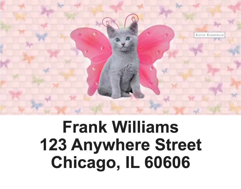 More Cats Wing Series Keith Kimberlin Address Labels