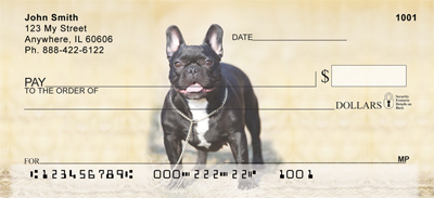 French Bulldog Personal Checks