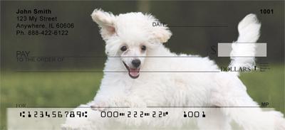 Mini Poodle Personal Checks