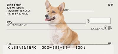 Pembroke Corgi Personal Checks