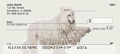 Standard Poodle Personal Checks