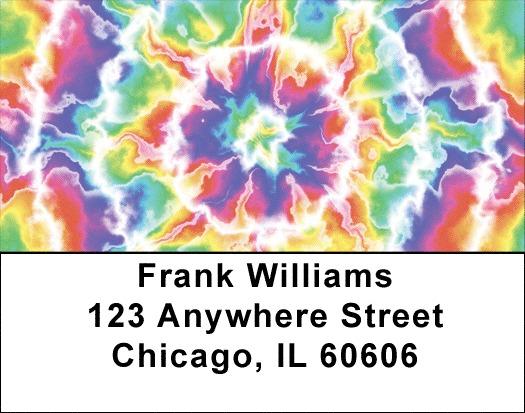 Colors Collide Address Labels