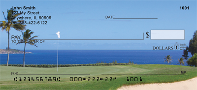 Golf Courses on The Ocean Personal Checks