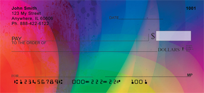 Rainbow Prisms Personal Checks