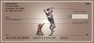 Your Inner Pup Yoga Dogs Personal Checks