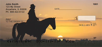 Roundup At Sunrise Personal Checks