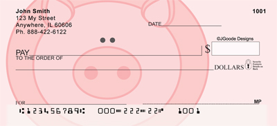 Jen Goode's Pigs Checks