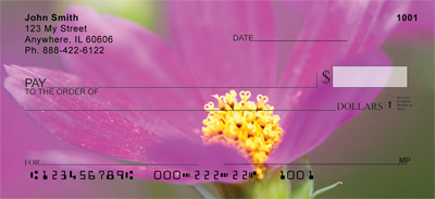 Blooming Closeups Personal Checks
