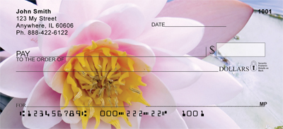 Lotus Rainbow Personal Checks