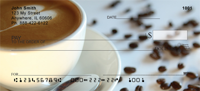 Coffee Lovers Personal Checks
