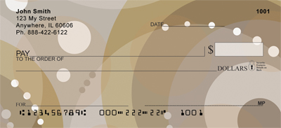 Java Inspired Circles Personal Checks