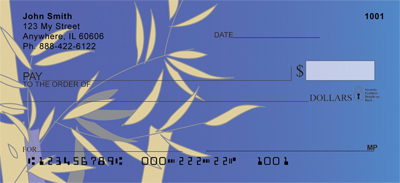 Bamboo Blues Personal Checks