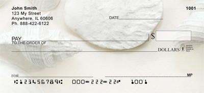 Perfectly White Shells Personal Checks
