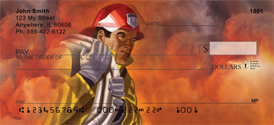 Heroic Firefighter Personal Checks