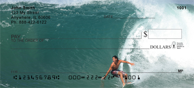 Extreme Surfing Personal Checks