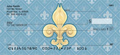 Fleur-de-lis Personal Checks