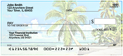 Beach Scenes Personal Checks