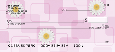 Daisies Personal Checks