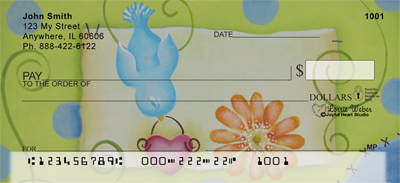 Color Me Happy Checks by Lorrie Weber